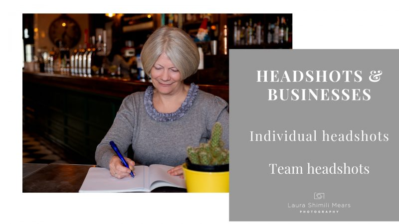 Headshots for you & your team, London photographer