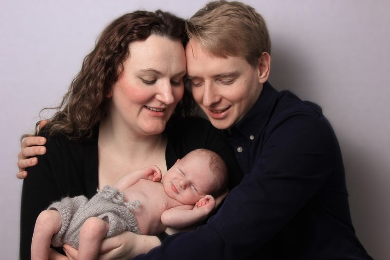 Newborn & family photo shoot, Tooting