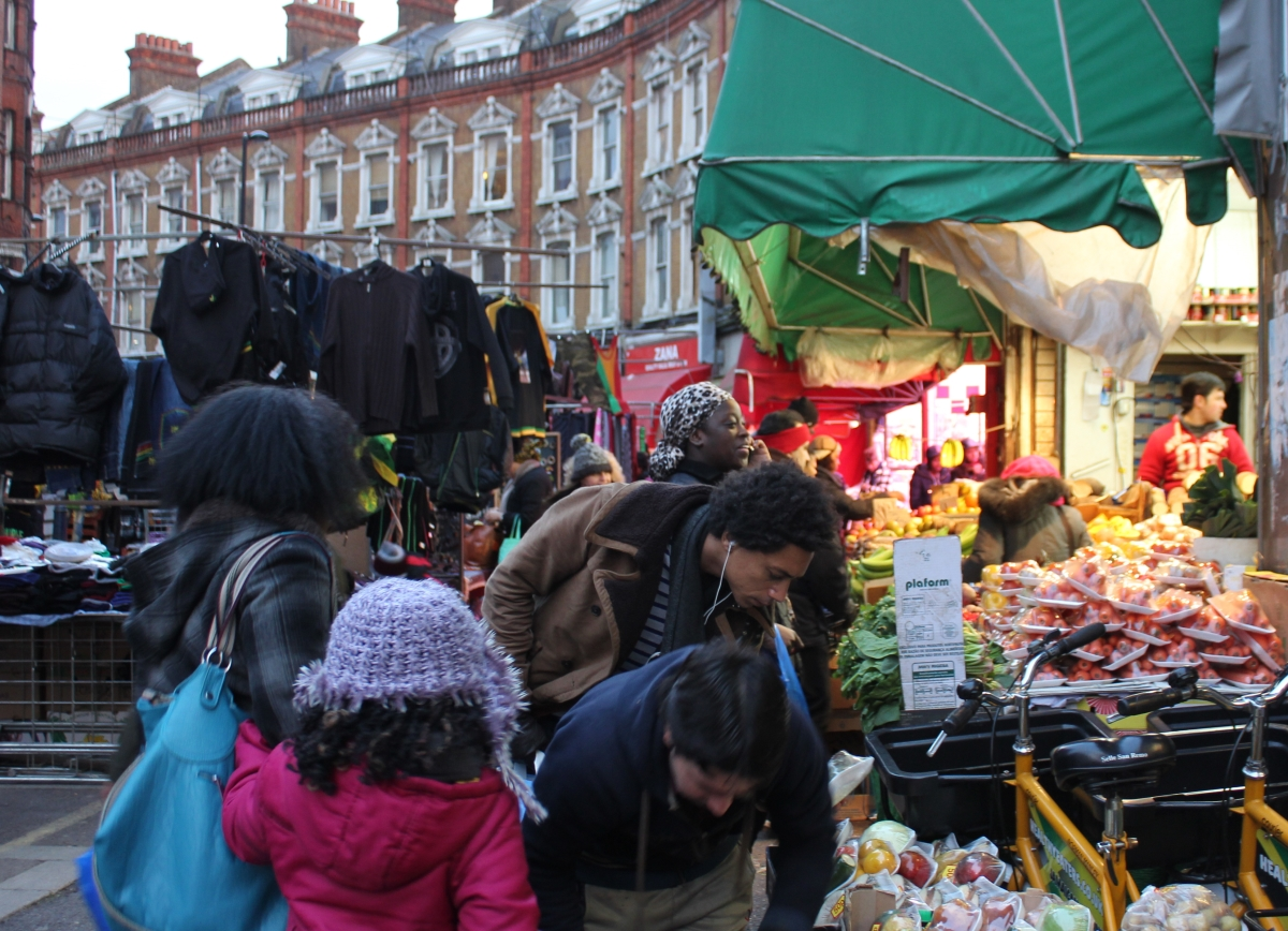 Photography visit of Brixton Market