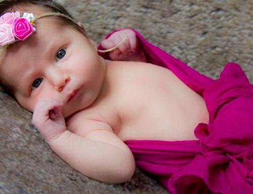 Baby girl, newborn photoshoot, Clapham, London, sneak preview