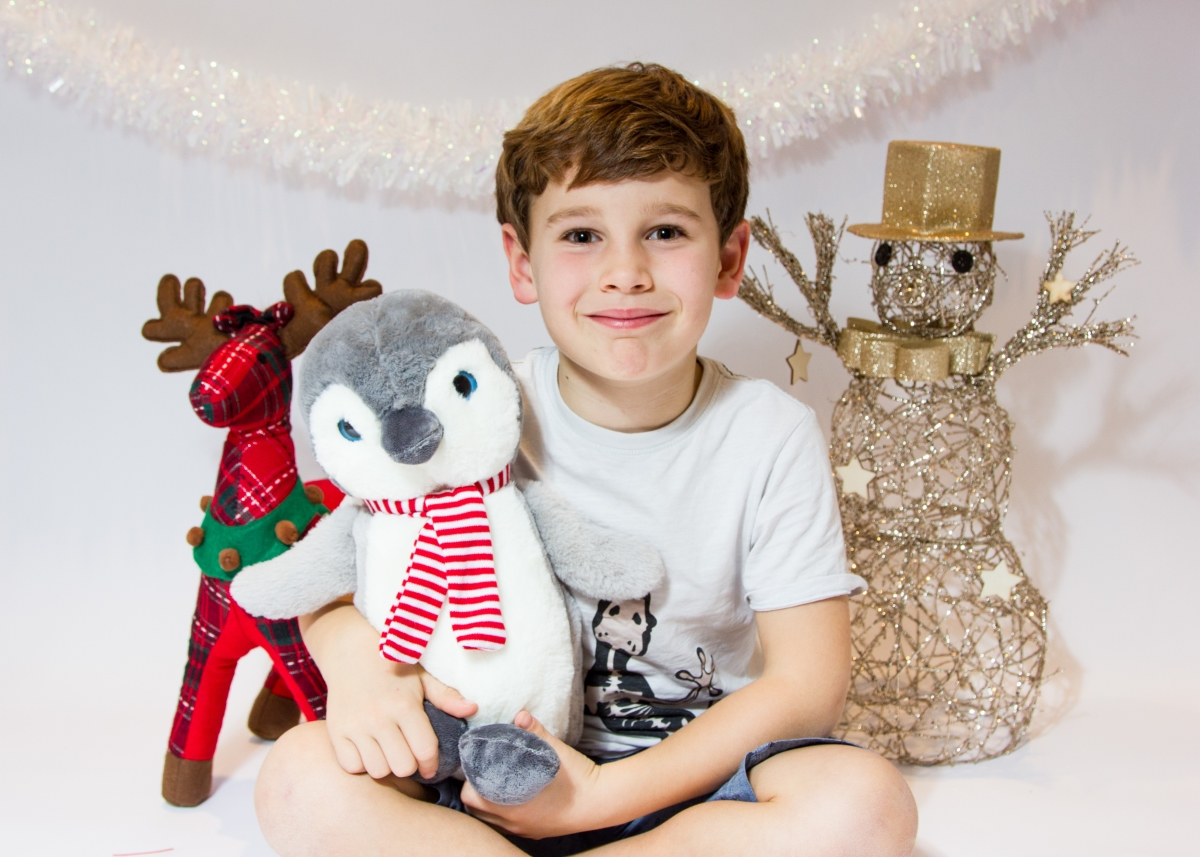 Christmas Family Photo Shoot in my home studio Tooting Bec