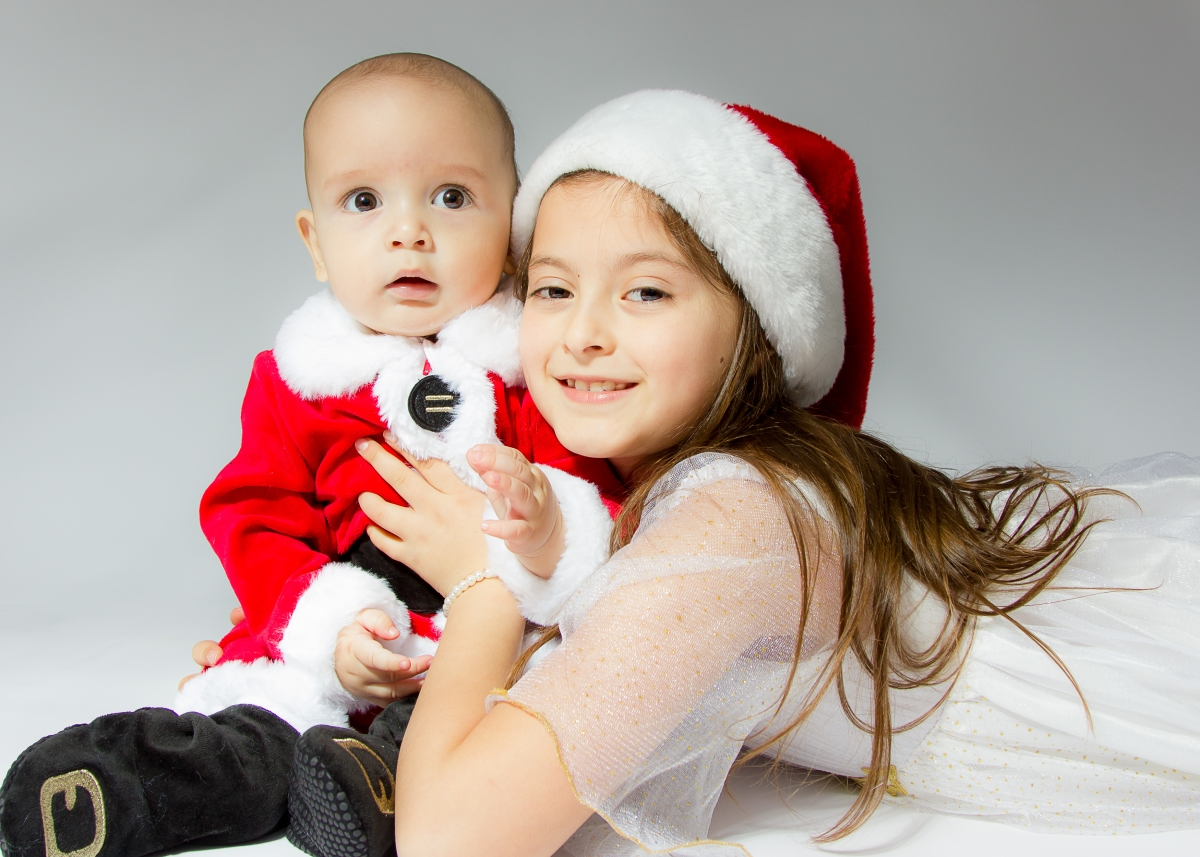 Christmas Family Photo Shoot in Tooting