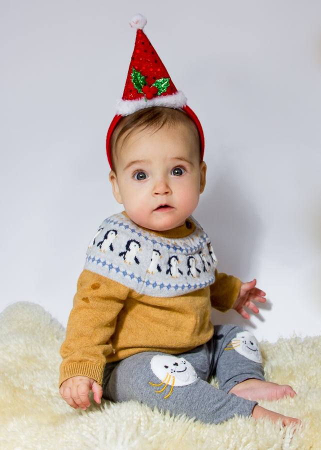 Cute baby girl and family photo shoot in Wandsworth