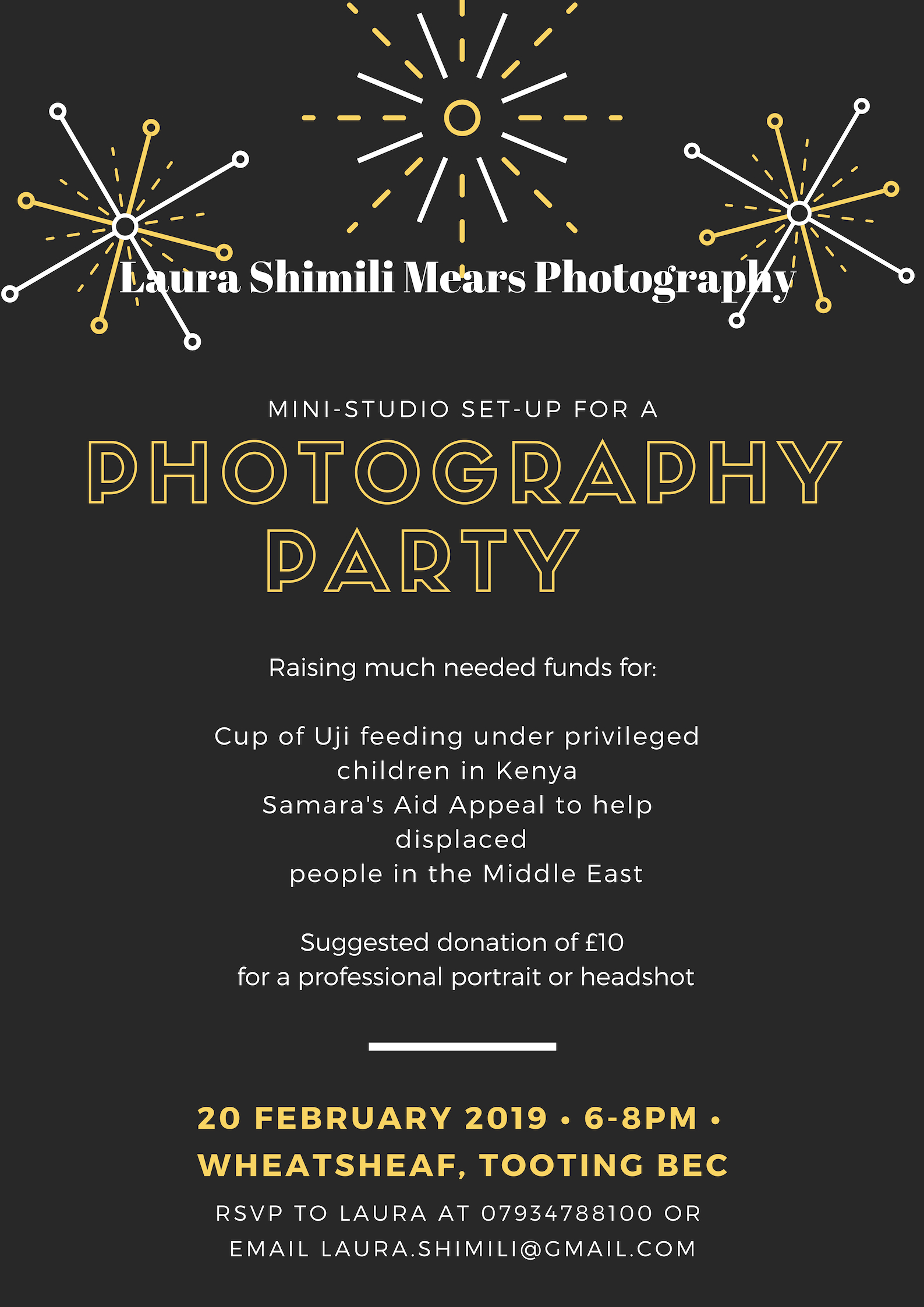 Photography Party, at the Wheatsheaf in Tooting Bec