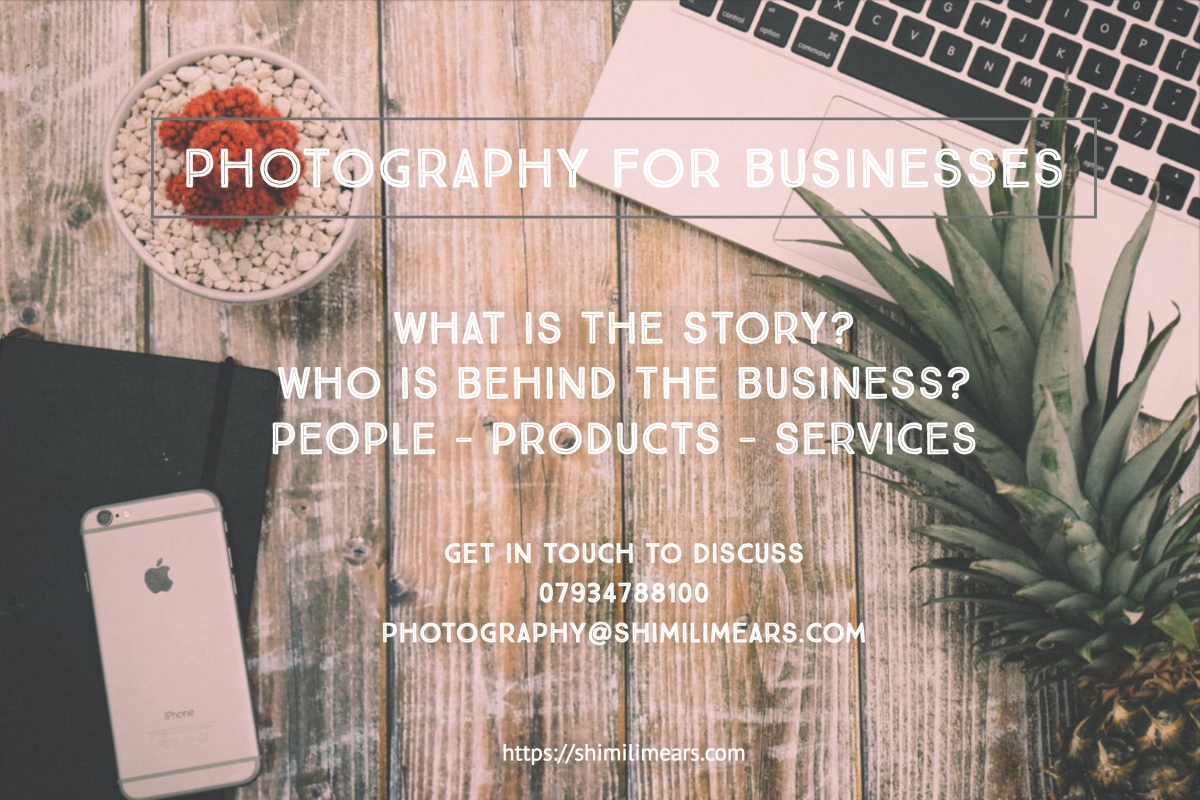 Photography packages for businesses, London Photographer