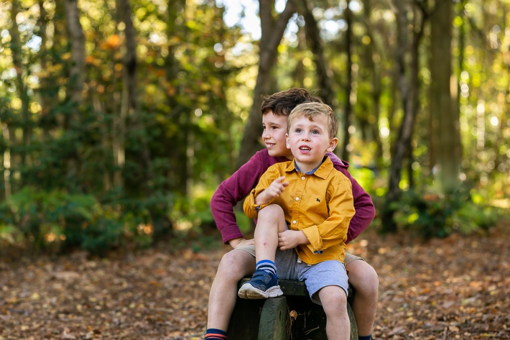 Taster session in the park for families, London photographer