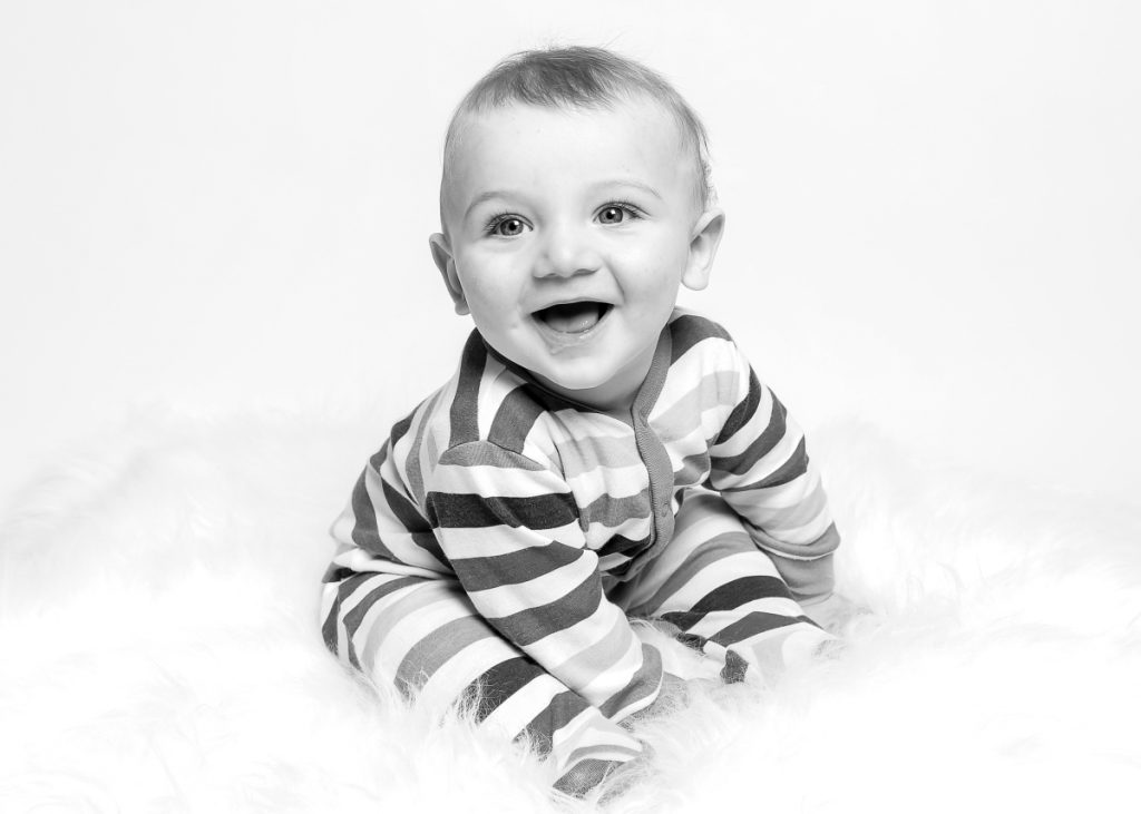 Pure & Simple Baby in the studio, Balham photographer