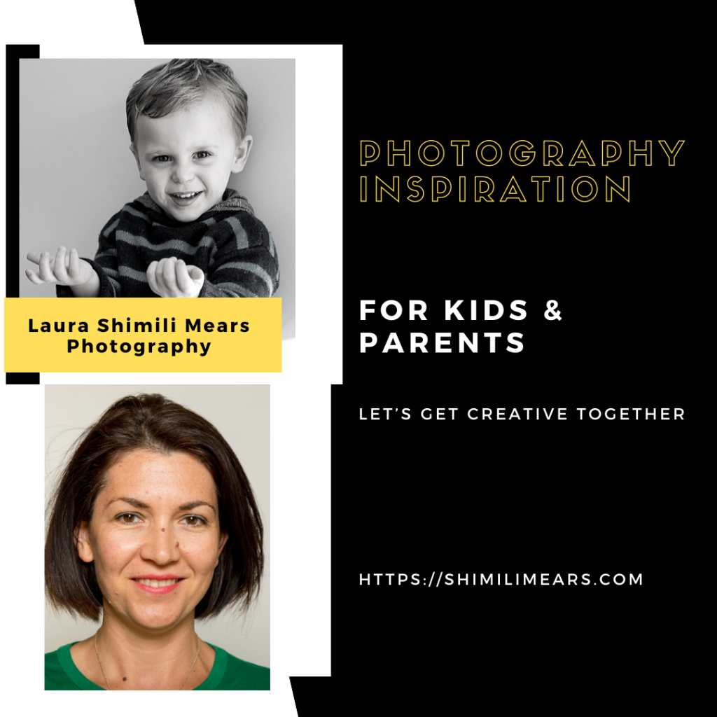 Photography inspiration for kids & parents group, let's get creative together.
