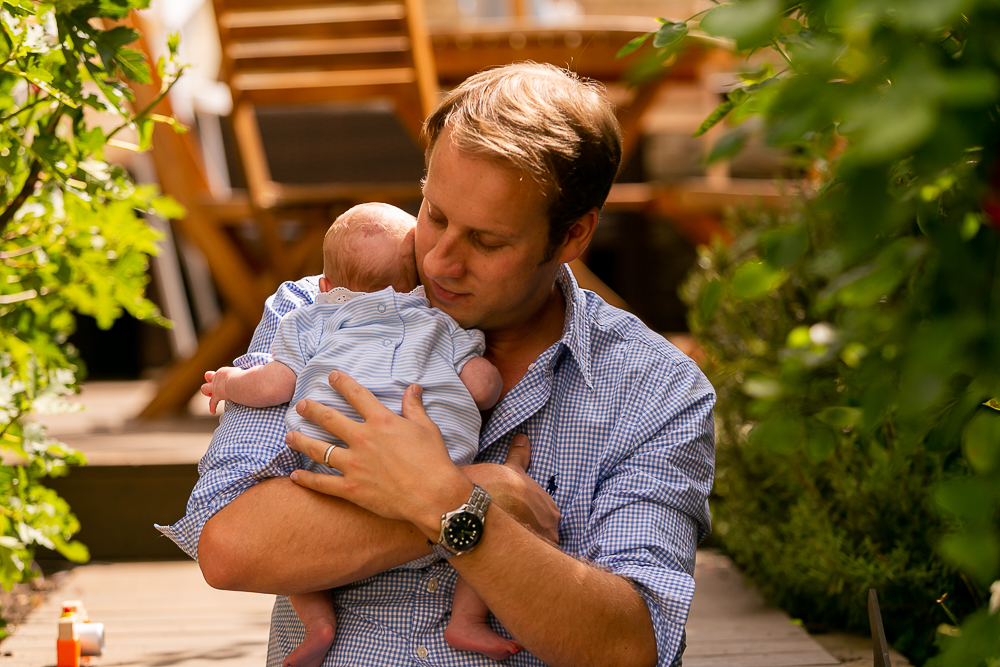 Newborn & family doorstep photographs, Tooting, South West London