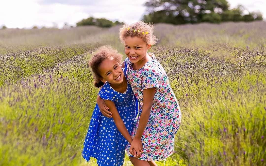 Lavender Family Photoshoot, Mayfield Lavender Farm