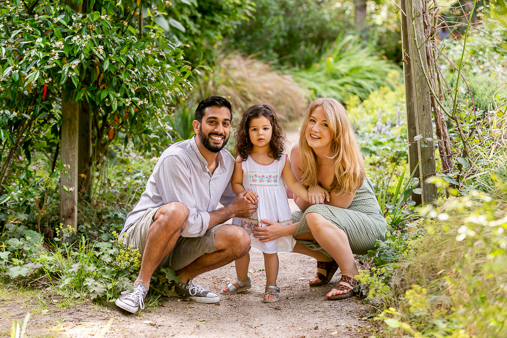 Family photoshoot, doorstep and outdoors, Tooting Photographer