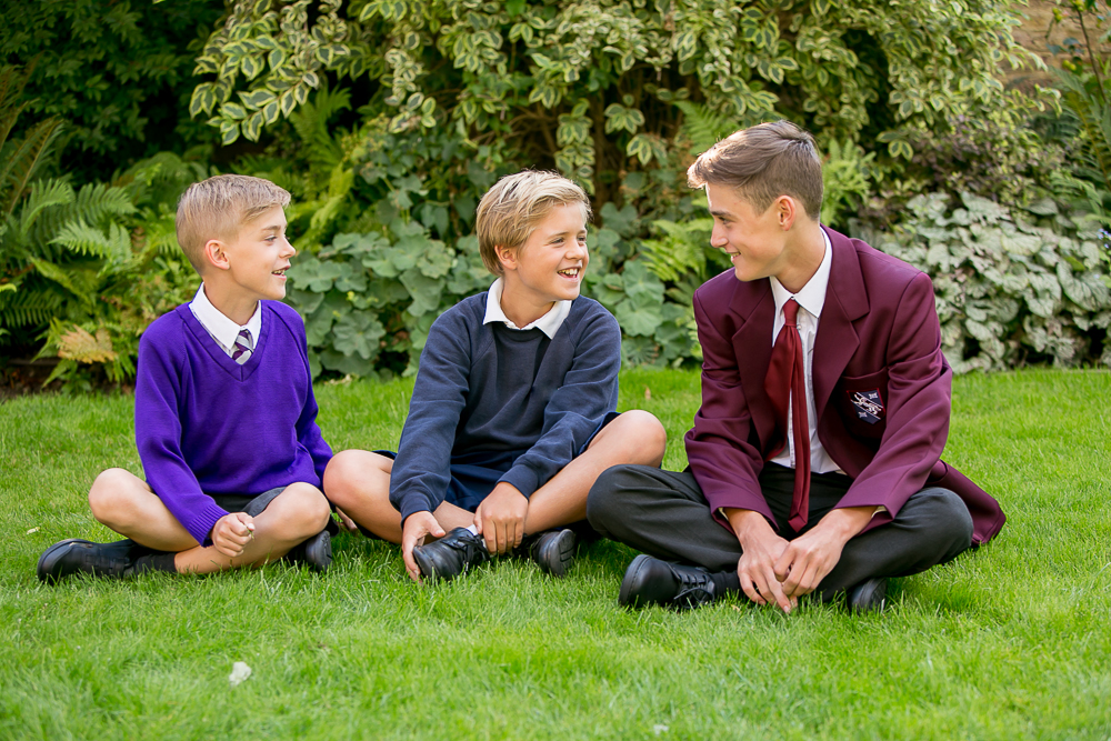 Back to school photographs, Tooting South West London