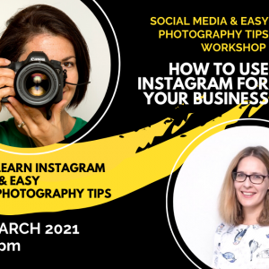 Social Media & Easy Photography tips workshop