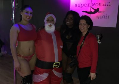 The Super Woman Pole Dance school December 2019