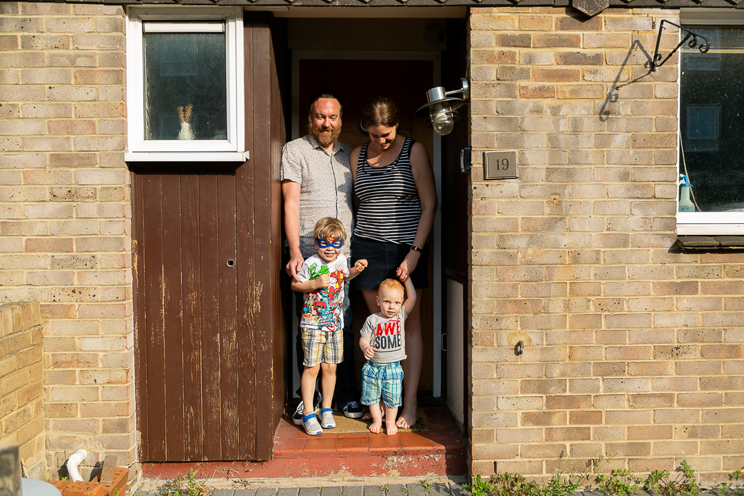 Doorstep Photographs Tooting, One Year Later