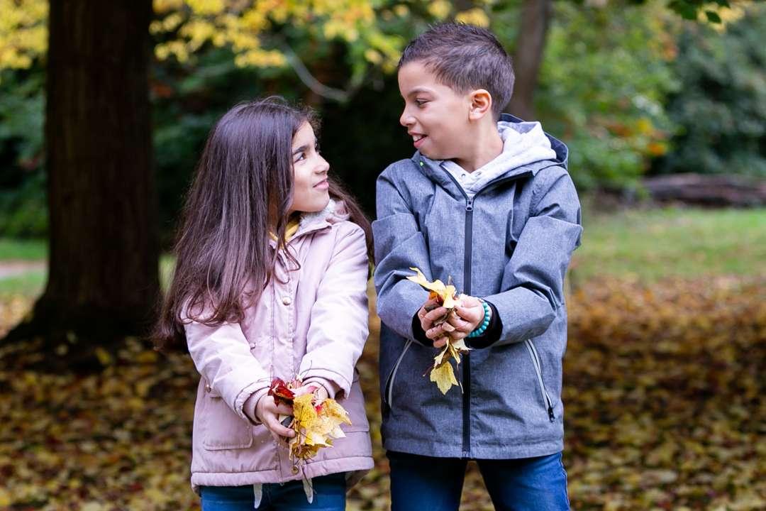 Autumn Family Photoshoot, Tooting photographer